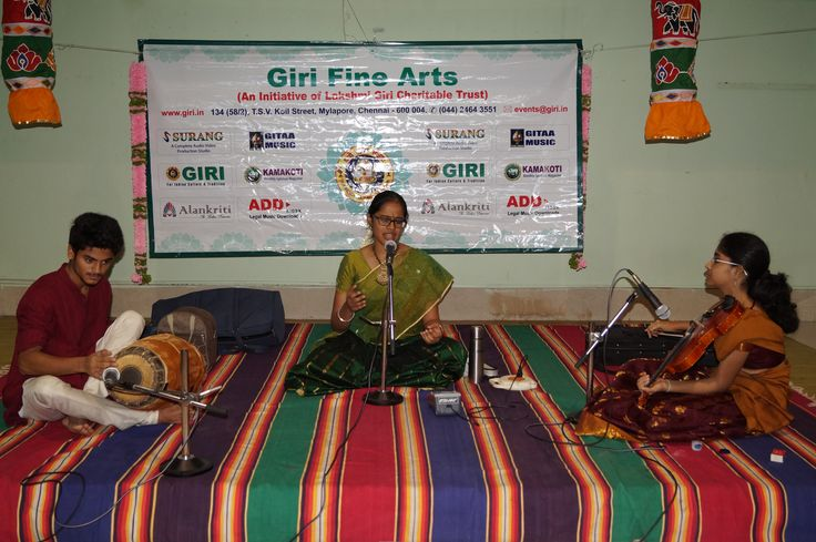 GIRI FINE ARTS MAY Month Concert