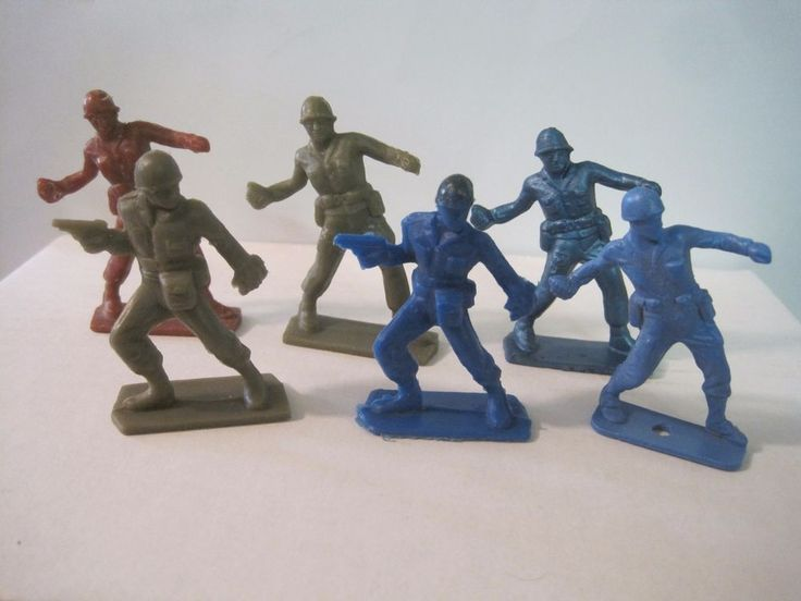 82 Best Plastic Army Men Toys Images On Pinterest Old
