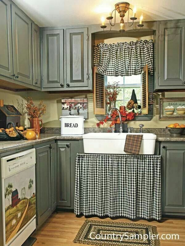 ventana y cortina kitchen cabinet curtain ideas in 2019 rh pinterest com