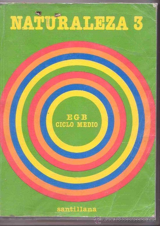 Libro de Naturaleza 3 EGB