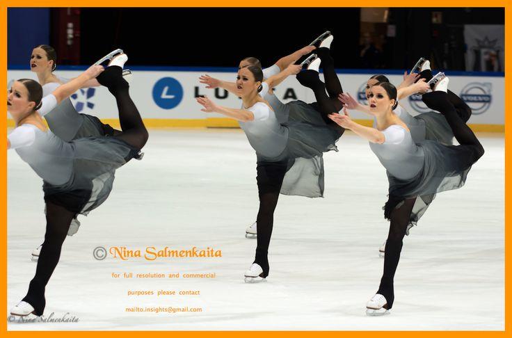 Rockettes FIN at Finlandia Trophy October 2015