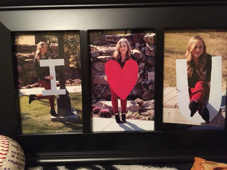Boyfriend picture frame gift!                                                                                                                                                      More
