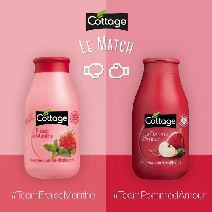 Etes-vous plutôt #TeamCaramel ou #TeamPommedAmour ? Soutenez votre team dans les commentaires !