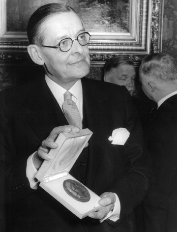 the life and literary career of thomas stearns eliot Eliot's major work shows few signs of st louis, but there was, in his youth, a  prufrock furniture store in town but ts eliot made his life and literary career in.