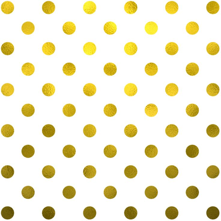 FREE Gold Foil Polka Dots Digital Paper