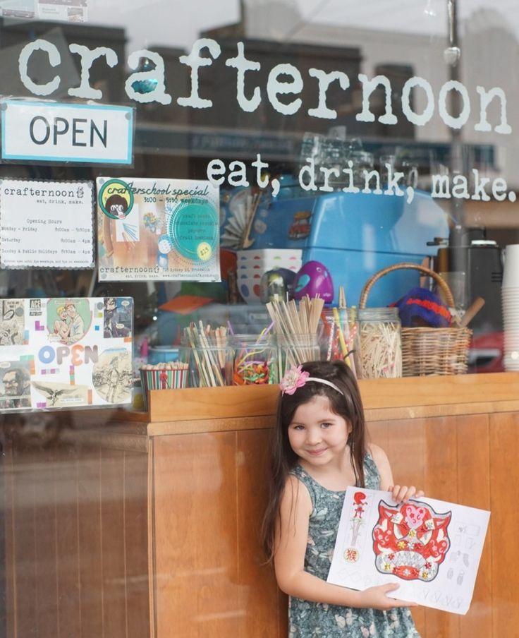 HOT: Crafternoon Cafe, 718 Sydney Rd, Brunswick http://tothotornot.com/2016/02/hot-crafternoon-cafe-718-sydney-rd-brunswick/