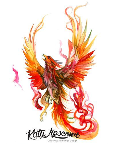 Rise of the Phoenix (Day 200) Print