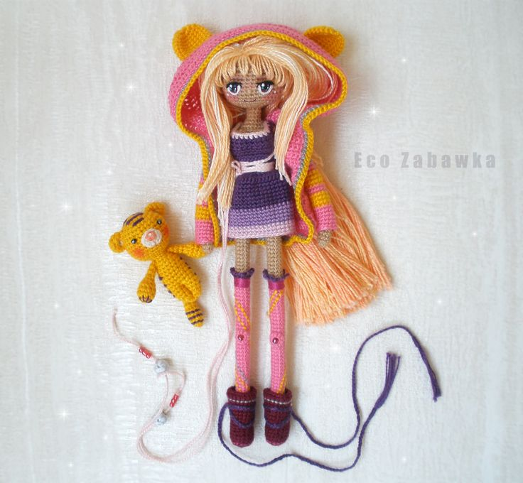 Unique handmade doll. Doll Sold out. https://www.instagram.com/eco_zabawka/