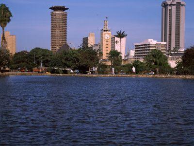 Park at the Lakeside, Uhuru Park, Nairobi, Kenya