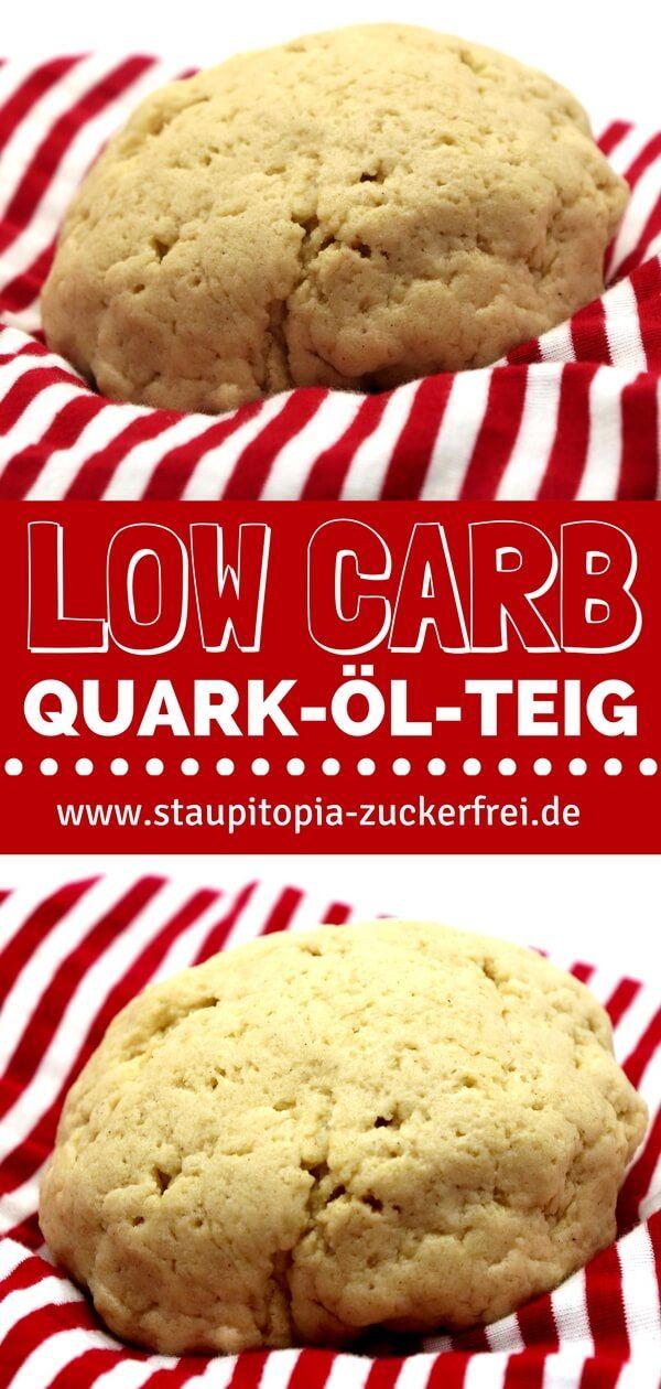 Dieser Low Carb Quark-Öl-Teig mit Mandelmehl eignet sich hervorragend zum Low Carb Backen. Egal ob süße Plätzchen oder herzhaftes Brot: Mit diesem Low Carb Quark-Öl-Teig kannst du eine Vielzahl von Backrezepten mit sehr wenigen Kohlenhydraten backen. Für mich ist der Teig mittlerweile die Basis für sehr viele Low Carb Backrezepte geworden und deswegen möchte ich heute das Grundrezept mit dir teilen. #lowcarb #backen #ohnezucker