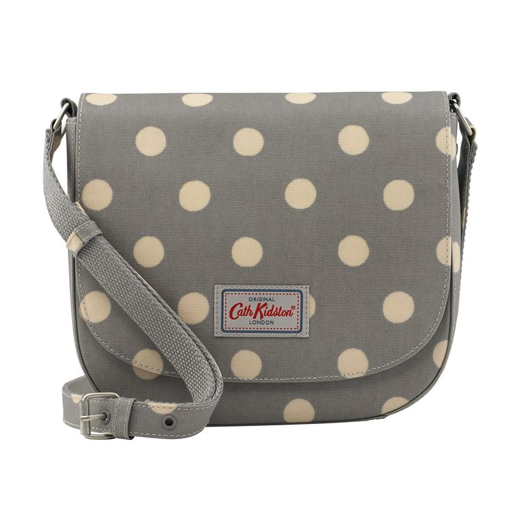 Button Spot Curved Saddle Bag | Everything but Gift Cards | CathKidston