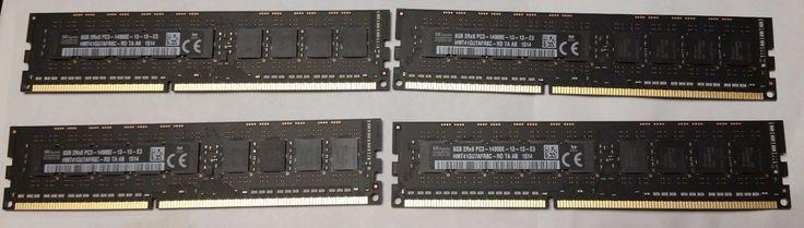 Apple Genuine 32GB 4x8GB 14900E 1866MHz DDR3 ECC Memory for Late 2013 Mac Pro