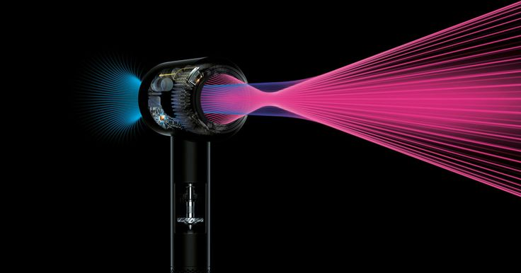FINALLY - AN ELECTRONIC HAIRDRYER After years of building vacuums, hand dryers, fans, and air purifiers, Dyson has decided to make a hair dryer. The Supersonic is here, and it costs $400.
