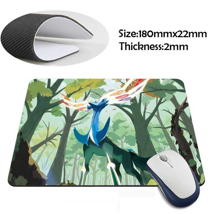 pokemon Custom Mouse Pad Computer Gaming MousePads