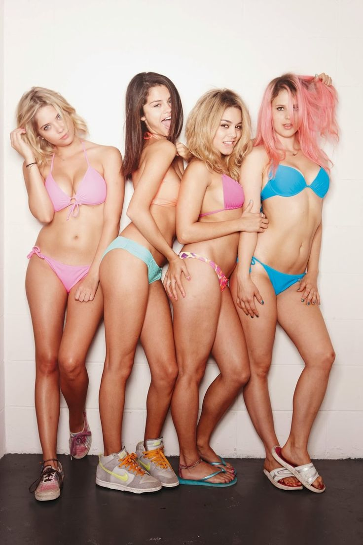 Strange Anything! selena gomez bikini spring breakers