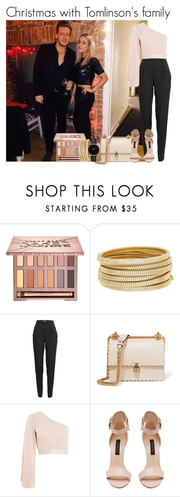 """""""Christmas with Tomlinson's family"""" by mllestylesusa ❤ liked on Polyvore featuring Urban Decay, Bagutta, Vionnet, Fendi, Topshop and Forever New"""