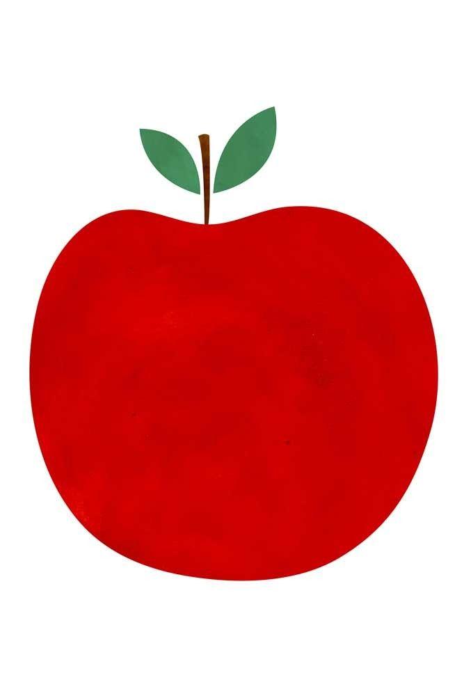 Poster La Pomme Blanca Gomez  � d�couvrir sur la boutique en ligne d'articles de d�coration pour la maison Lili's.