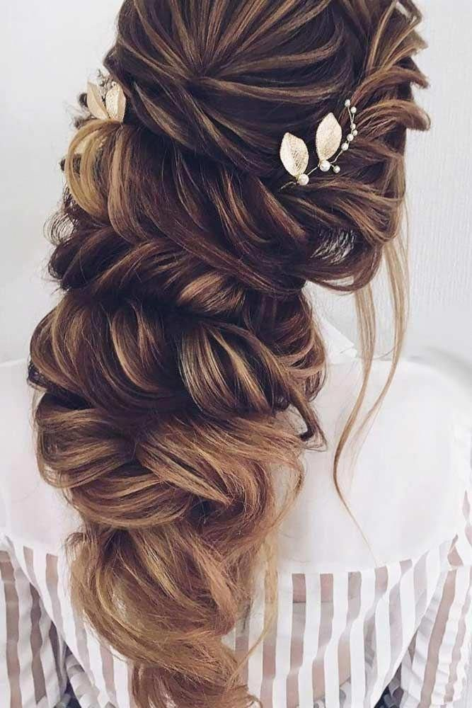 wedding hairstyles maid of honor