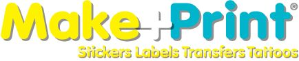 Custom Sticker Maker - Design and personalize your own stickers and print them from your printer