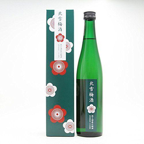 北雪酒造 北雪梅酒 500ml(化粧箱入)