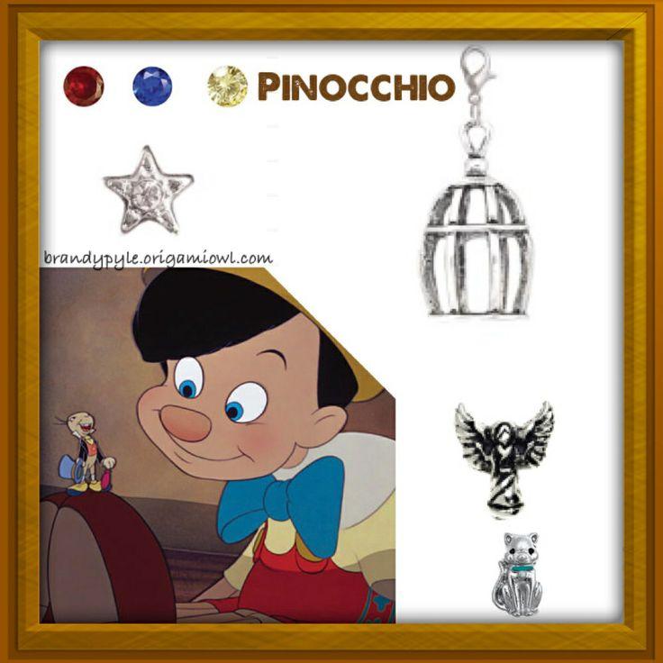 Pinocchio theme Origami Owl living locket. Disney #disney #disneylover #disneymovie