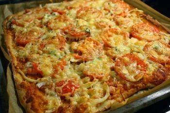 Pizza jauheliha aurajuusto