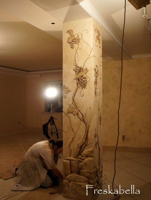 Best Лепка на стенах Images On Pinterest Sculpture Painting - Artist uses drywall to create extraordinary sculptures