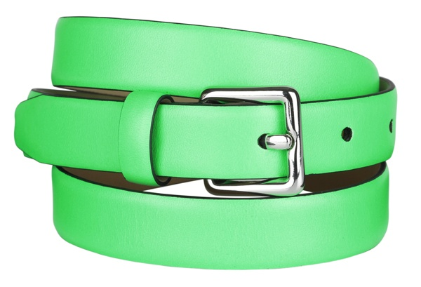 Green leather belt #GapLove