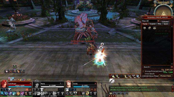 Demonic Jurgen Raid Boss  x.x  at Lucifer's Castle Secret Garden