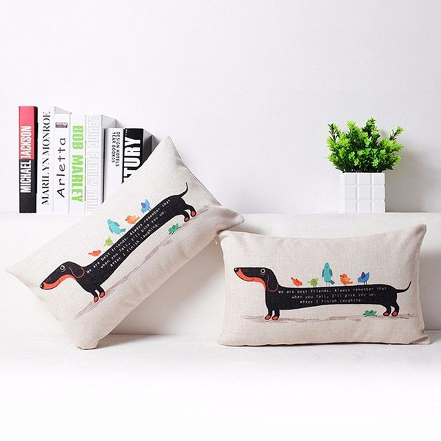 Dachshund Lover Pillow Cover Size: 30cm x 50cm Limited time offer: Buy 1 Get 2 Free! Get yours here: https://goo.gl/B5wYnv