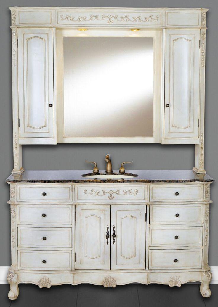 Gerrell 60 Single Bathroom Vanity Set Blue