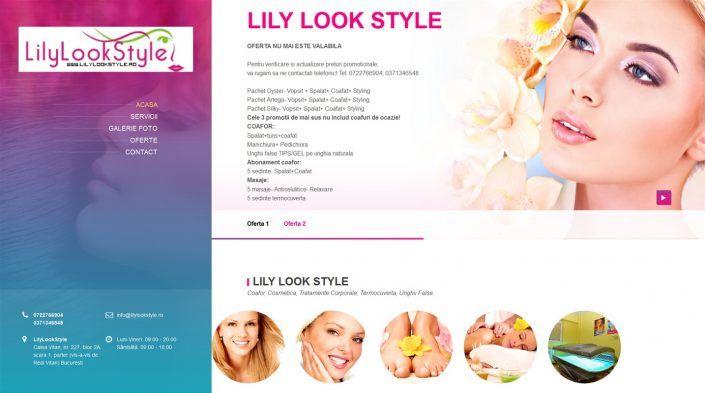 Creare Site De Prezentare Salon de Frumusete by ProsperDesignWeb.deviantart.com on @DeviantArt