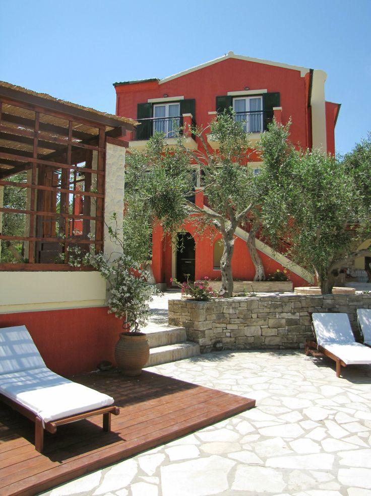 Villa Bella Vista, Paxos, Greece http://www.fougarostravel.com/