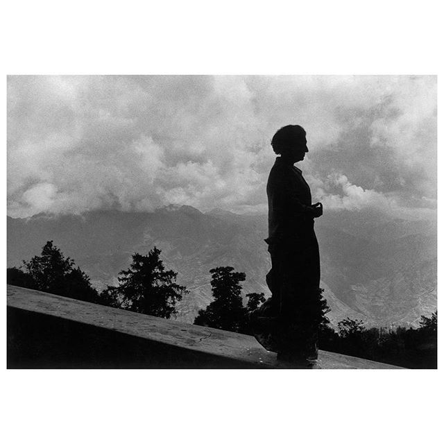 Indira Gandhi on the Himalayan mountain. 1973  .  Sunday marks the centenary of Indira Gandhi's birth on November 19, 1917. Magnum photographers documented the life of India's first and, to date, last female prime minister over nearly four decades. See the feature on magnumphotos.com. Link in bio.  .  © @raghurai.official/#MagnumPhotos    #RaghuRai #IndiraGandhi #blackandwhitephotography