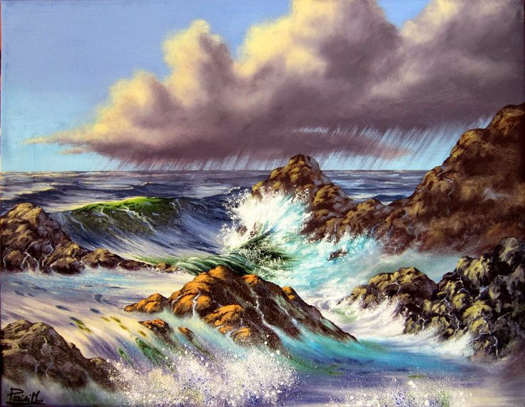 Piccoli Capricci: Mare e... Nuvolone ;-)
