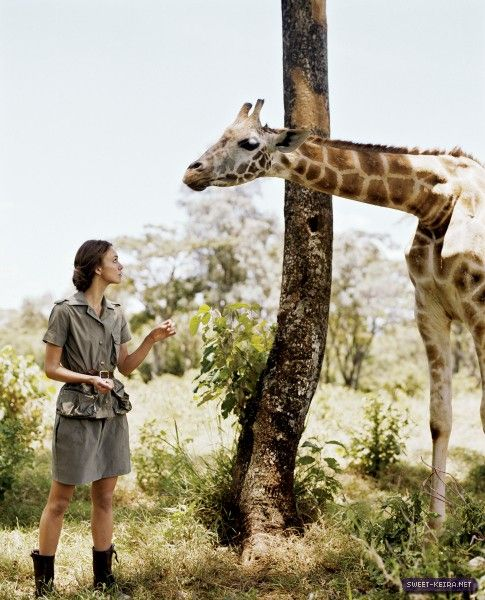 Keira Knightley for Vogue - African Safari shoot