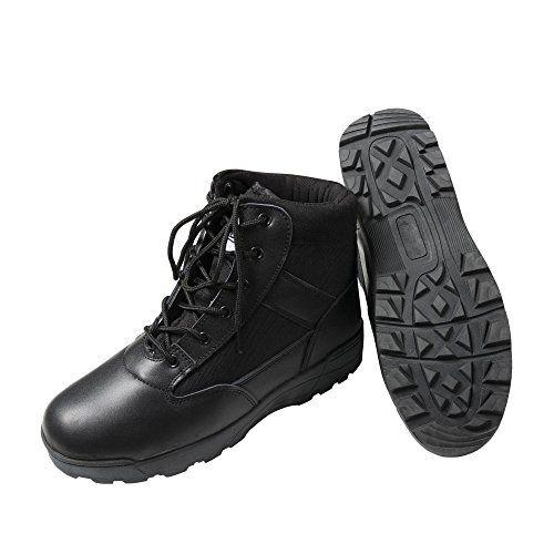 Tactical Security Boots, Security Stiefel, Lederstiefel, Einsatzstiefel, Kampfstiefel, Obermaterial aus Leder/Nylon, Farbe: schwarz - http://on-line-kaufen.de/id7/39-eu-tactical-security-boots-security-stiefel