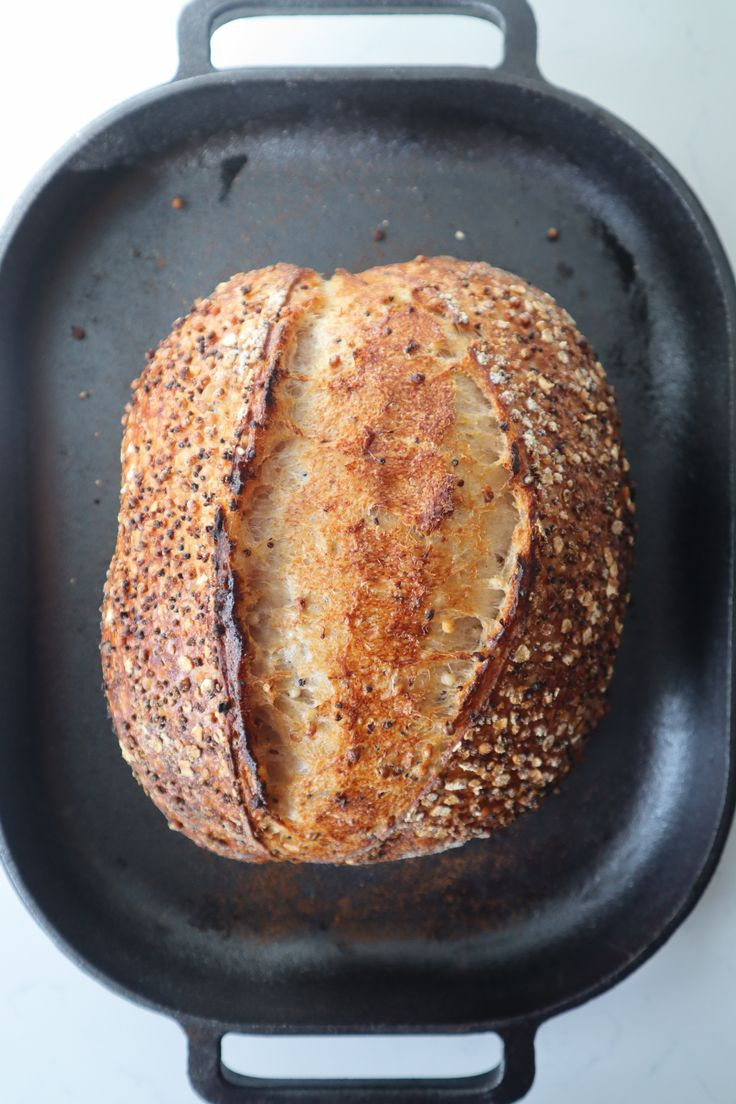 Recipe: Quinoa & Sorghum Sourdough Bread | artisanbryan ...