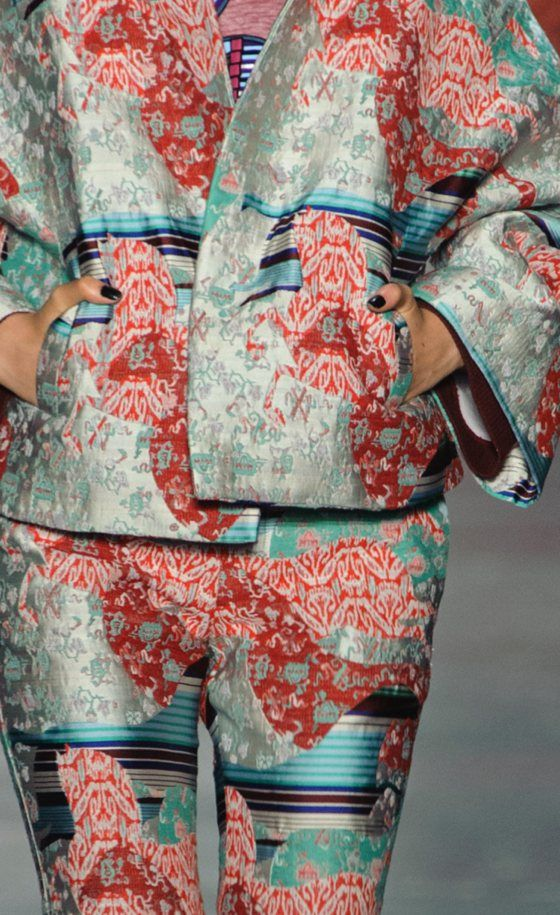 patternprints journal: PATTERNS, PRINTS, TEXTURES AND SURFACES INTO F/W 2016/17 FASHION COLLECTIONS / NEW YORK 14 - Vivienne Tam