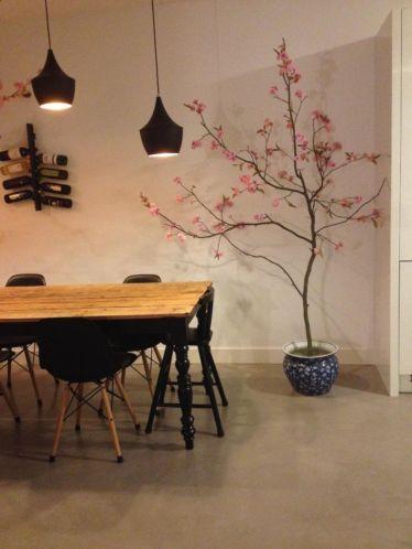 Japanse kersenbloesem bloesemboom interieur decoratie for Interieur decoratie