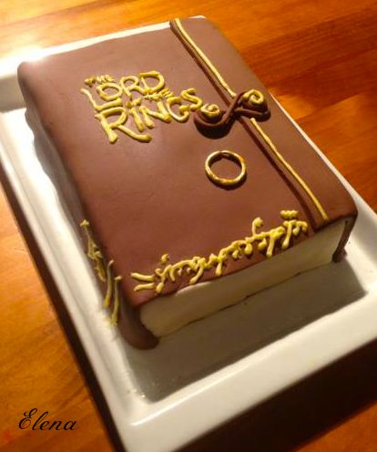 The Hobbit Birthday Cake