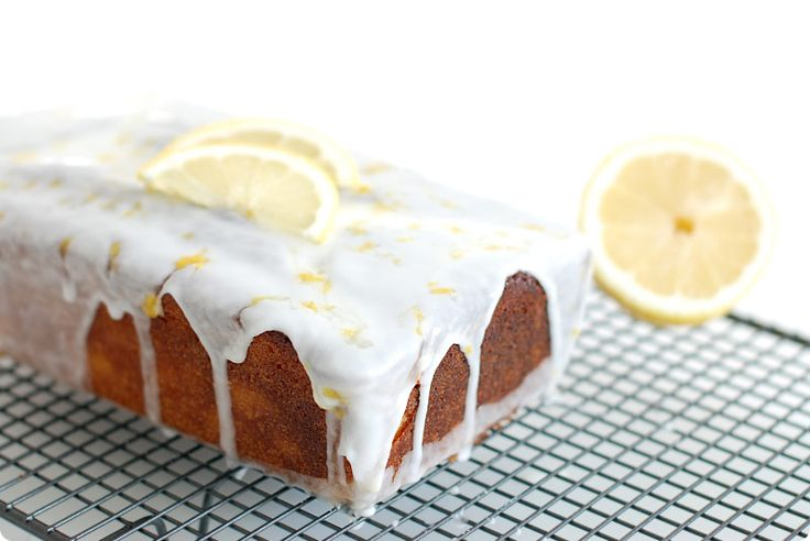 Cake de limón con glaseado