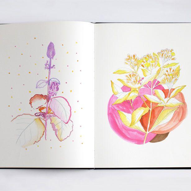 Ana Montiel's sketchbook