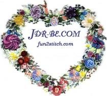JDR Brazilian Embroidery Elegance at jdr-be.com and fun2stitch.com