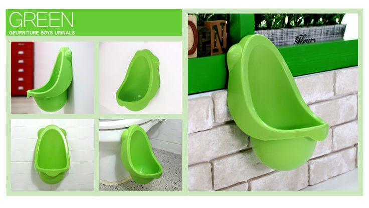 Boy Potty Training! It's Green!!!!! I think it's destined for the boys of this home.Children Potty, Toilets Training, Kids Stuff, Urine Toilets, Potty Training, Korea Green, Boys Pee, Kids'S Baby, Boys Potty