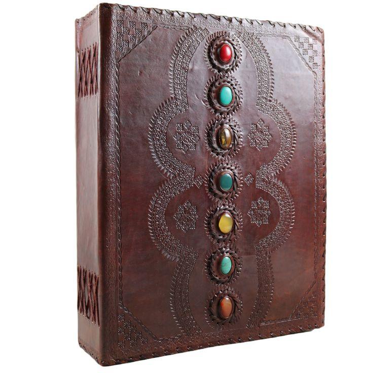 Massive 7 Stone Leather Journal