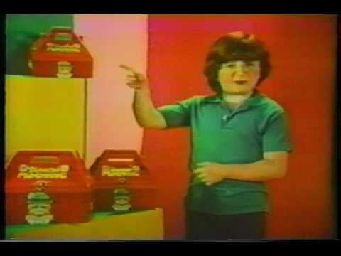 A TV commercial for Dunkin' munchkins starring famous child actor Mason Reese from the 1970s.