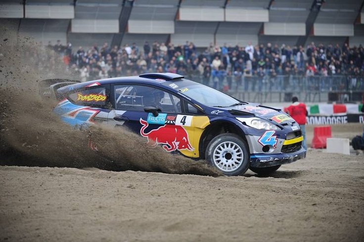 Andrea #Dovizioso on #RedBull Ford Fiesta #WRC @ 2011 Memorial Bettega