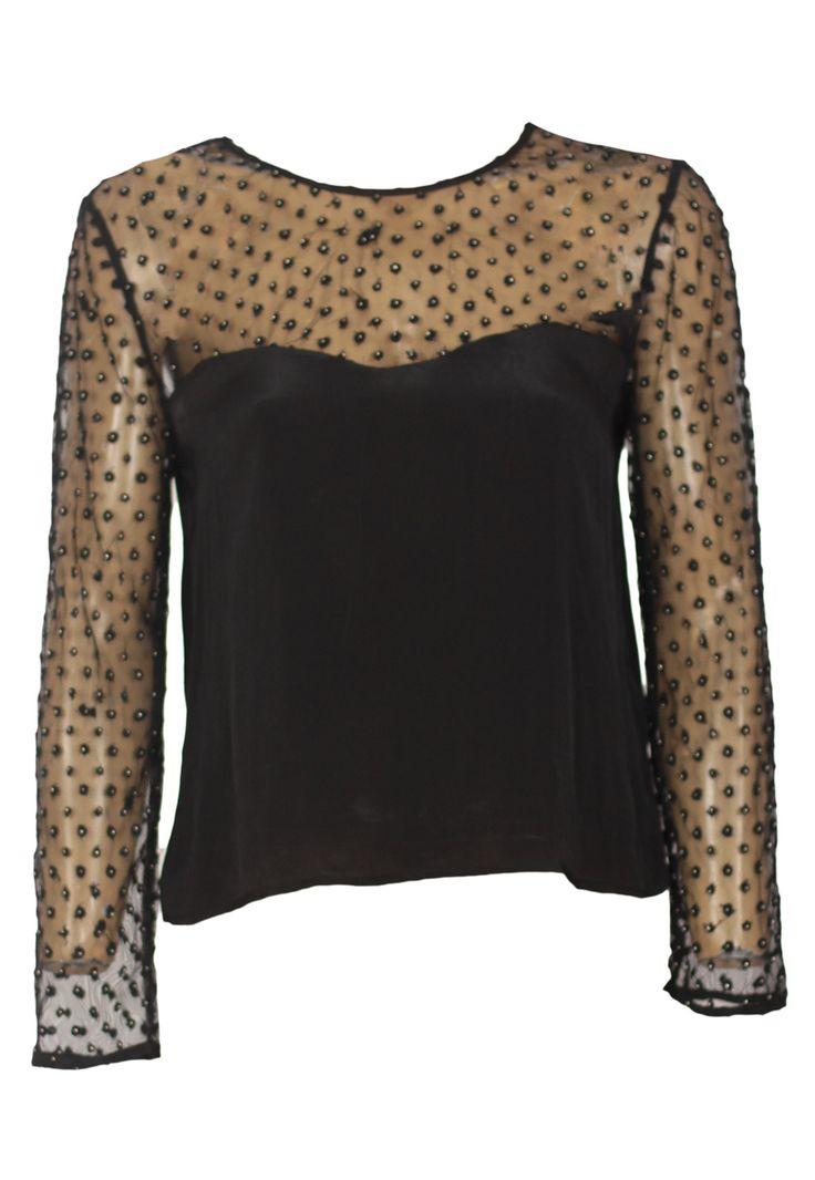 Bluza ZARA Agatha Black - doar 69,90 lei. Cumpara acum!