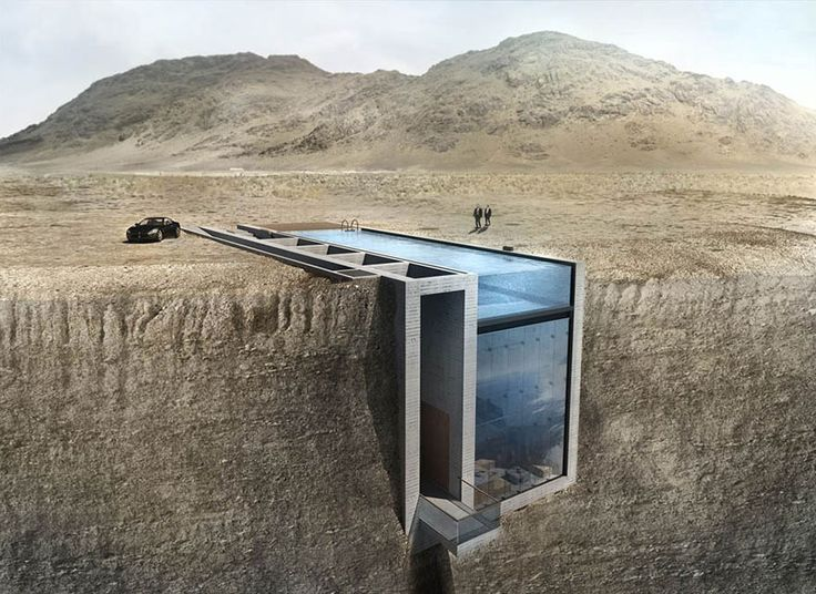 This House Hidden In A Cliff Has Amazingly Terrifying Views Of The Sea